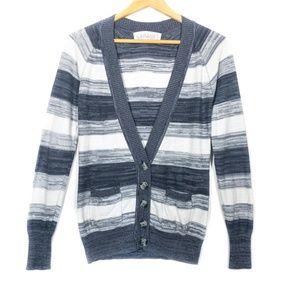 ✨3/$25✨Garage Clothing Striped Knit Cardigan - XS
